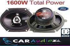 """FORD Ka, Transit, Focus, Fiesta 5""""x7"""" Coaxial De Coche Altavoz De La Puerta potencia total de 1600W"""