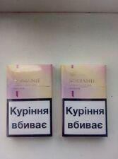 2 x Sobranie London Golds SLIM Cigarettes 2 x 20