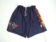 VINTAGE RARE STARTER GOLDEN STATE WARRIORS AUTHENTIC GAME SHORTS IN SIZE XL