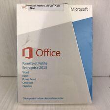 Microsoft Office Famille et Petite Enterprise 2013 1 PC New Sealed