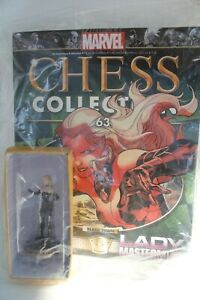 Eaglemoss Marvel Chess Collection Series 2 Number 63 Lady Mastermind