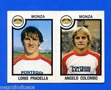 CALCIATORI PANINI 1982-83 Figurina-Sticker n. 495 - PRADELL#COLOMBO - MONZA -New