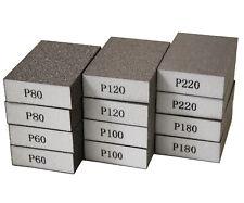12pcs Drywall Sanding Sponge Block Wet Dry Sand Paper 60 80 100 120 180 220 Grit