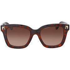 Valentino Rockstud Blonde Havana Sunglasses