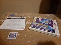 Pokemon Moon (Nintendo 3DS 2016) CIB 3DS 2DS Free Shipping