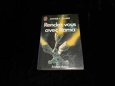 Arthur C Clarke : Rendez-vous avec Rama Editions J'ai Lu 1985/1987