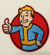 Thumb up Fallout Vault Tec Pip Boy Embroidered Sew On/Iron On Patch appique