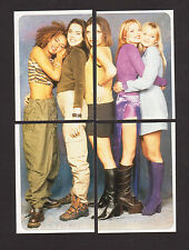 The Spice Girls 1998 Set of 4 Stickers Picture Puzzle from Italy