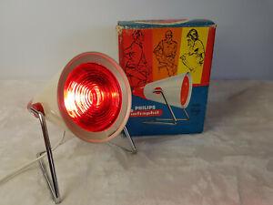 "PHILIPS: ""infraphil""  INFRA-Rotlicht-Wärme-Lampe  Vintage-Lampe   in OVP"