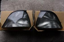 BMW 3 Series E36 325i 328i Coupe Cabrio White Smoked Turn Signal Lamp Set TYC