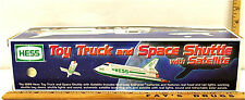 1999 Hess Toy Truck & Space Shuttle with Satellite Semi Transporter Amerada NIB