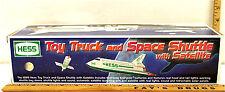 1999 Hess Toy Truck & Space Shuttle with Satellite Semi Transporter Amerada NIB