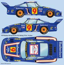 1979 Barbour Racing Porsche 935 Sebring winner water transfer decals 1/24