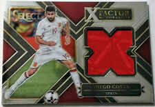 2017-18 PANINI SELECT SOCCER * DIEGO COSTA JERSEY X-FACTOR * SPAIN!
