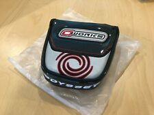 ODYSSEY O-WORKS 2-BALL MALLET PUTTER HEAD COVER HEADCOVER - NEW