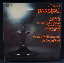 WAGNER: PARSIFAL-Sir Georg Solti-LONDON #OSA 1510-UK Import 5 Lp Boxset
