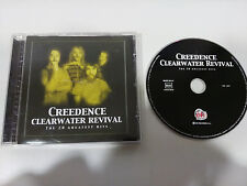 CREEDENCE CLEARWATER REVIVAL THE 20 GREATEST HITS CD OK REC SPANISH EDITION 2014