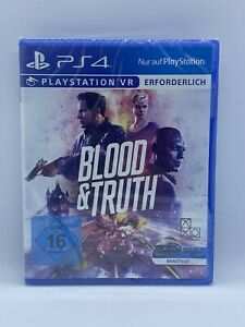 PLAYSTATION 4 VR Spiel BLOOD & AND TRUTH PS4 PSVR
