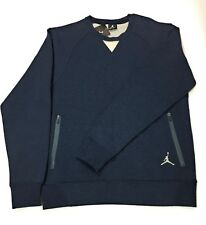 Nike Air Jordan Men's Medium Tech Fleece Crew Sweatshirt 693201-473 MSRP $100