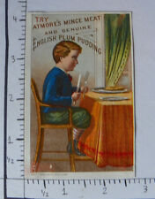 ATMORE'S MINCE MEAT ENGLISH PLUM PUDDING PHILADELPHIA BOY TABLE FORK KNIFE 1442