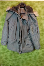 US Military Extreme Cold Weather Parka Type N3B + Hood Men's Large 1974 ??   M06