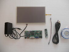 "10.1"" inch LCD monitor VGA/HDMI + USB touch screen 4line resistive 1366x768 DIY"