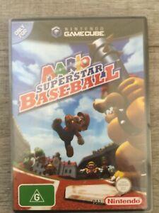 Mario Superstar Baseball Nintendo Gamecube PAL RARE!