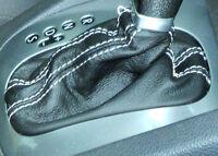 VW Golf V 1K1 (Bj. 2003-2009)  DSG CUFFIA CAMBIO AUTOMATICO IN VERA PELLE