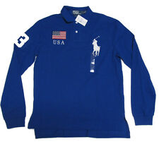 $145 Polo Ralph Lauren Mens Slim Custom Fit Big Pony Country Shirt S M L XL 2XL