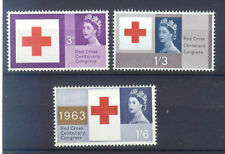 Great Britain 1963 RED CROSS phosphor set postfris/MNH