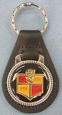 Hernando DESOTO #3325 Black Leather Silver Key ring 1946 1947 1948 - 1951 1952