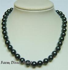 Modeschmuck-Halsketten aus Muschel mit Perlen