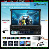 7''1 Din Car Radio Flip Out Screen Touch Screen Stereo Head Unit Bluetooth SD FM