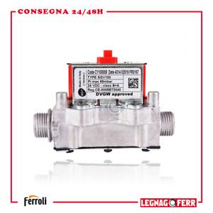 Valvola Gas Bertelli B&P SGV100 C1100009 per Caldaia Ferroli Ricambi 39841320