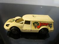VINTAGE JOKER MOBILE DC COMICS BATMAN CORGI JUNIORS DIE CAST CAR~