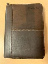 "Solo Leather Carrying Case/Padfolio for 8"" Tablet/iPad  Pre Owned"