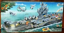 BanBao 8411 Aircraft Carrier Building Block Set 2580pcs