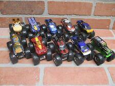 Hot Wheels Monster Jam 1:64 Lot Of 10