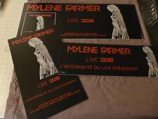 Mylène Farmer - Lot de 3 PLV - Live 2019