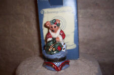 Christmas Treasure Box-Boyds Collection-Grenville Santa W/Helper-Mib-Low Edit.
