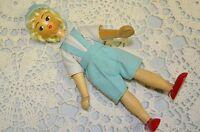 "Vintage Polish 7"" Handmade Wooden Doll"