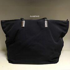 Pre Owned Vintage Authentic Gucci Nylon Large Shoulder Bag