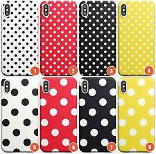 Designer Fashion Polka Dot Slim TPU Case for iPhone | Fashion Cute Trending Gi