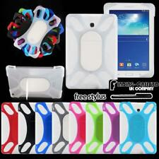 "For Various 7"" Samsung Galaxy Tab Tablet - Shockproof Silicone Stand Cover Case"