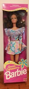 1992 Mattel Special Expressions Barbie #10050 New NRFB Woolworth Special Lt Ed