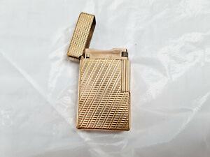 Dupont Feuerzeug Gold / Gatsby rot