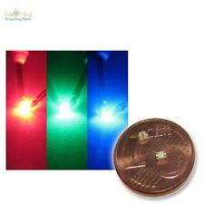 10 SMD RGB LEDs 0805 rouge vert bleu Mélangeur de couleur DMX SMT