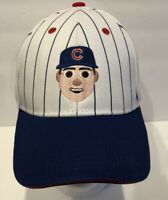 Anthony Rizzo Chicago Cubs Emoji Face SGA Adjustable Hat Pinstripes #44
