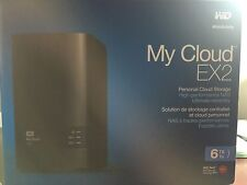 Western Digital 2 Bays 6TB My Cloud EX2 NAS WDBVKW0060JCH-NESN