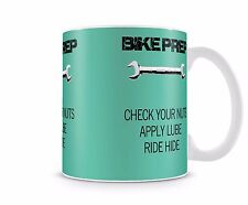 Bike / cycle humour ride funny rude coffee mug - FREE DELIVERY